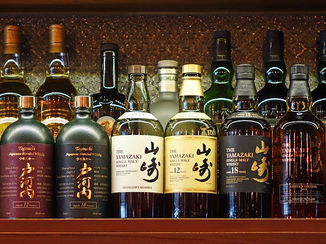 bouteille de whisky yamazaki