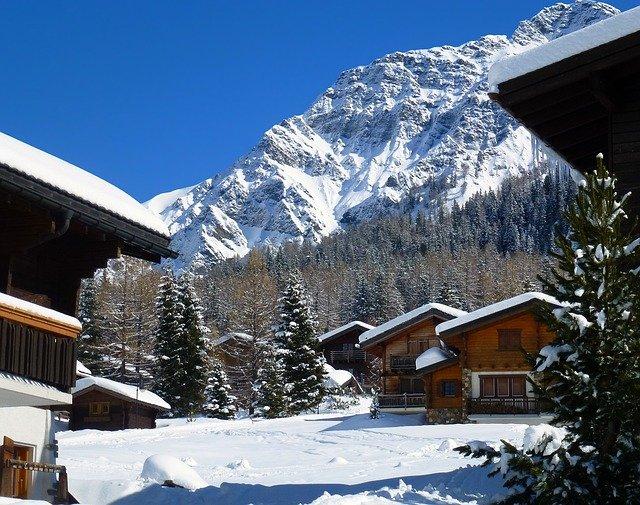 chalet à Leysin en suisse