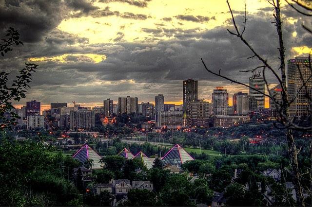 Edmonton au canada