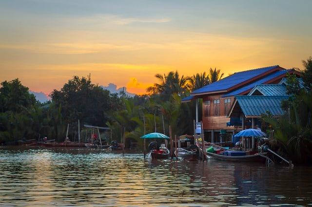 Surat Thani en thailande