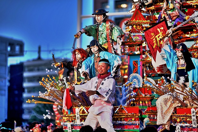 festival au japon