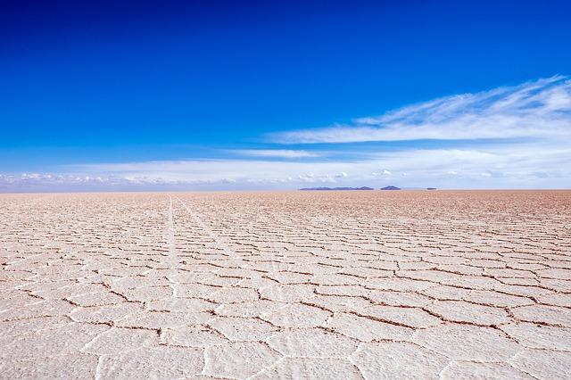 le désert de Salar d'Uyuni