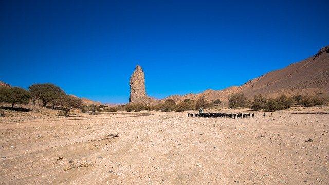 désert hoggar en algérie